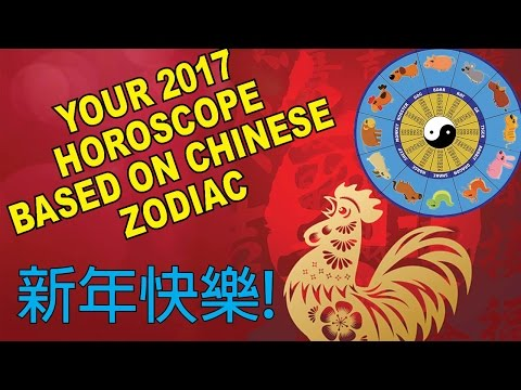 Your Fortune 2017: Chinese Zodiac Horoscope Predictions!