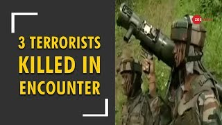 J&K: 3 terrorists killed in an encounter by Army - ZEENEWS