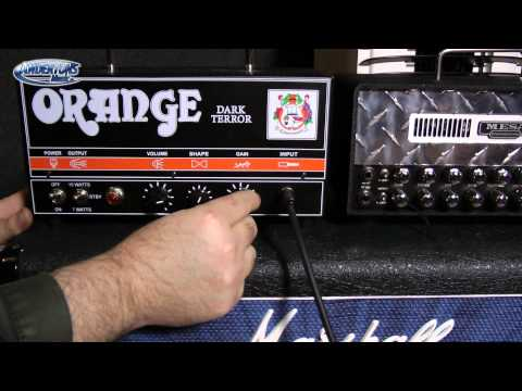 Mesa Boogie Mini Rectifier V Orange Dark Terror - Plus SVR gear tour