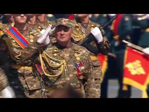 Հայկական զօրագունդի մասնակցութիւնը Մոսկուայի զօրահանդէսին