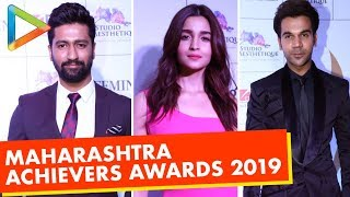 Alia Bhatt, Rajkummar Rao, Vicky Kaushal & others @ET Edge Maharashtra Achievers Awards 2019 - HUNGAMA