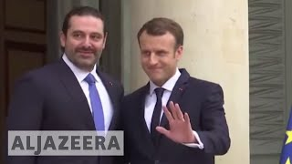 Hariri in France, vows to return to Lebanon by Wednesday - ALJAZEERAENGLISH