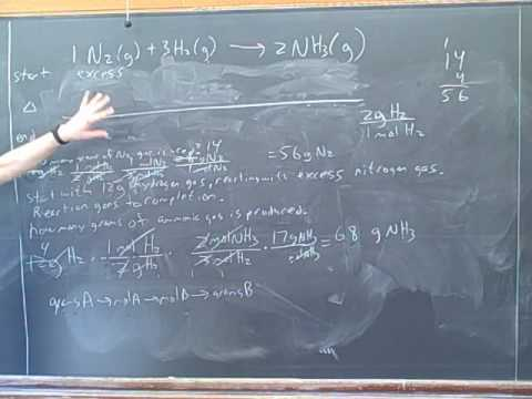 Stoichiometry. ICE tables. Limiting reagent (13)