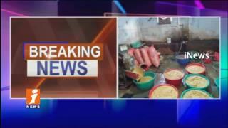 SOT Police Raids On Fake Chili Powder And turmeric Powder Manufacturing Unit In LB Nagar   iNews - INEWS