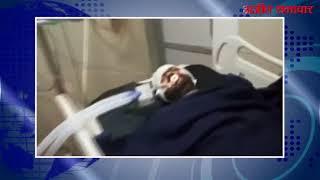 video : डीएवी फ्लाईओवर से गिरकर युवक गंभीर घायल