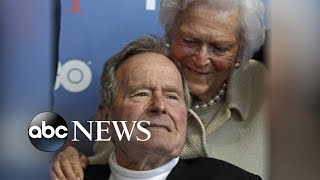President George H.W. Bush hospitalized days after wife's funeral - ABCNEWS