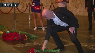 FIFA President Infantino and German Football Association visit WWII memorials - RUSSIATODAY