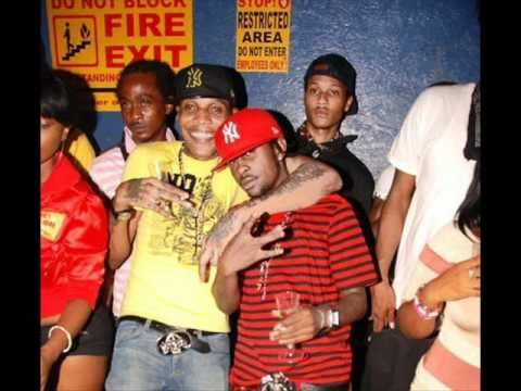 "PopCaan -""No Laugh Ting"" Vybz Kartel-""Cant Breathe"" ""Dont run"" {Gaza Lenky  DubPlate Mix}."