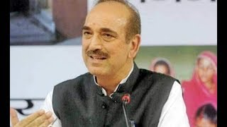 Exclusive interview with Congress leader Ghulam Nabi Azad - NEWSXLIVE