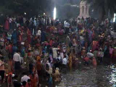 Chhath Puja -2  2008 in Ranchi - A Bhojpuri Sansar Video