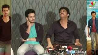We are not Stupid Family to Being moody || Akhil Success Meet || Nagarjuna, Akhil - IGTELUGU