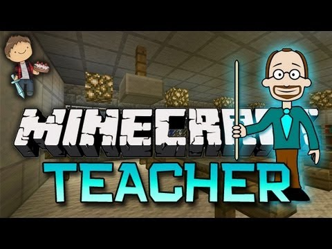 Minecraft: TEACHER Mini-Game w/Mitch & Friends - Key & Peele (Game 1)