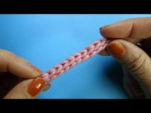 Шнурок крючком Crochet cord