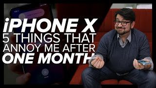 iPhone X: Five annoying things - CNETTV