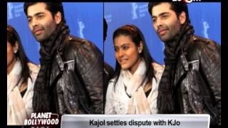 Kajol Mukherjee and Karan Johar patch up! | Bollywood News