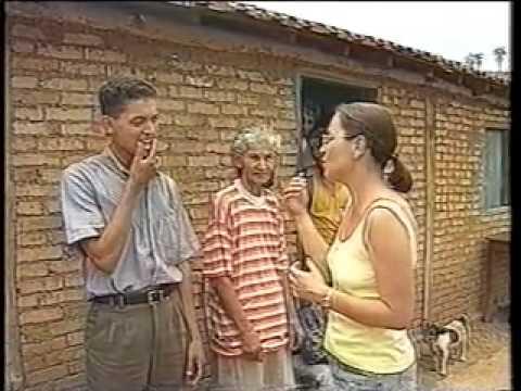 Reportagem do Globo Rural - Cachoeira da Jibóia - Uruana de Minas - MG - Outubro de 1997