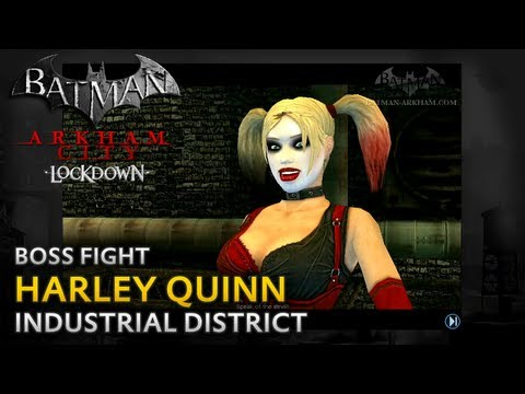 Batman: Arkham City Lockdown Walkthrough - Harley Quinn Boss Fight