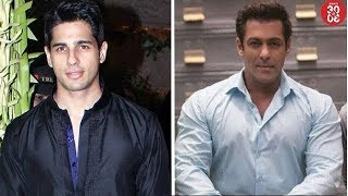Sidharth's Reaction On Working In A Telugu Film Remake | Salman Shares Videos From 'Race 3' Shoot - ZOOMDEKHO