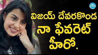 Vijay Deverakonda Is My Favourite Actor - Sasha Singh || Talking Movies With iDream - IDREAMMOVIES