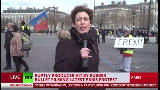 'Frexit'? Chaos, fire, ambulances, arrests as Paris hit with Yellow Vest protest again - RUSSIATODAY