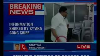 Congress orders Narayanswamy suspension for misbehaving in BBMP office - NEWSXLIVE