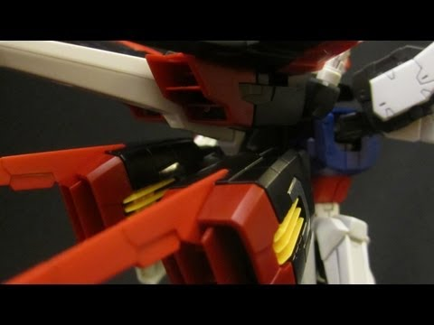RG Aile Strike (Part 3: Weapons) Gundam Seed gunpla model review