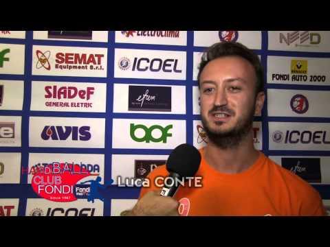 Hc Fondi  Interviste a Pestillo, Conte e De Santis del 09 09 14