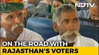 A Bus Journey With Rajasthan Voters Across 8 Lok Sabha Constituencies - NDTV