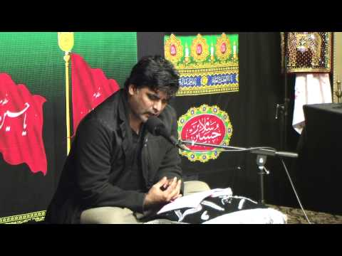 Dar e Abbas Houston 11th Muharram Tussadaq Hussain Part 1 11 15 2013