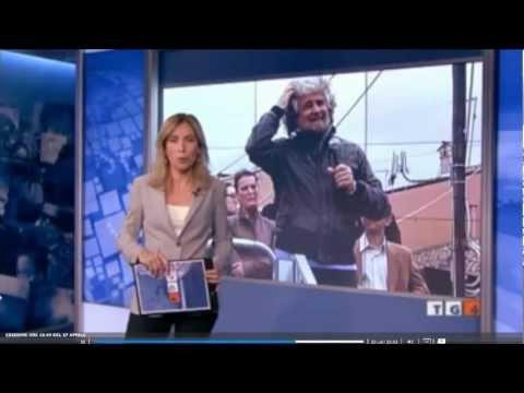 TG4 mi ha usato come un'arma contro Beppe Grillo. Arese 27 aprile 2012