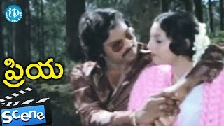Priya Movie Scenes - Vishrathi Dies || Chiranjeevi, Radhika - IDREAMMOVIES