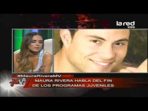 Maura Rivera opina sobre el fin de los programas juveniles y su quiebre con Rodrigo Díaz