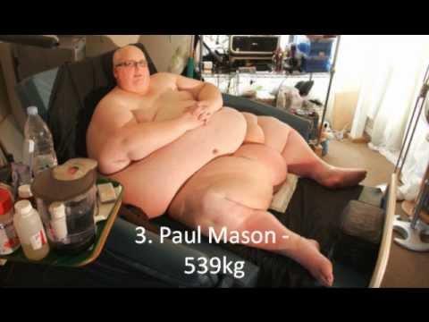 Top 10 Worlds Fattest Man