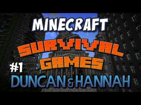 Team Duncan and Hannah - Part 1 Survival Games