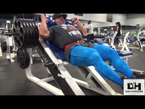 Dusty Hanshaw Crushes legs at Independence Gym Sep 21st, 2016