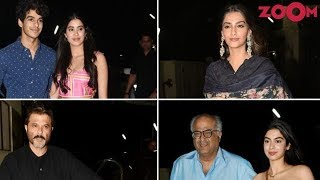 Bollywood Stars Attended The Special Screening Of 'Dhadak' & More - ZOOMDEKHO