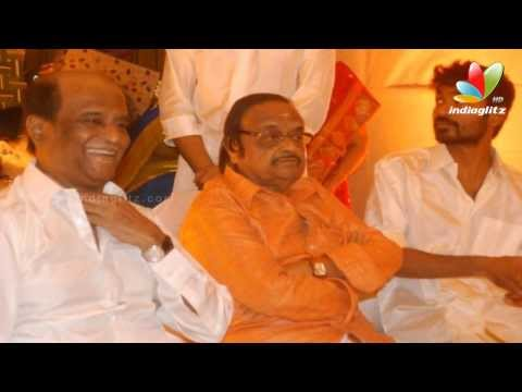Rajinikanth, Dhanush, Aishwarya, Anushka at Music Composer Anirudh's Sister's Marriage