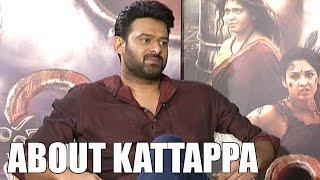 Prabhas About Kattappa Character In Baahubali | Anushka | Rana | S S Rajamouli | iNews - INEWS
