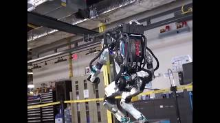 Boston Dynamics' humanoid Atlas robot does backflips - VOAVIDEO