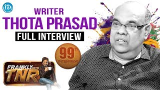 Frankly With TNR #99 - Full Interview || Talking Movies With iDream #691 - IDREAMMOVIES