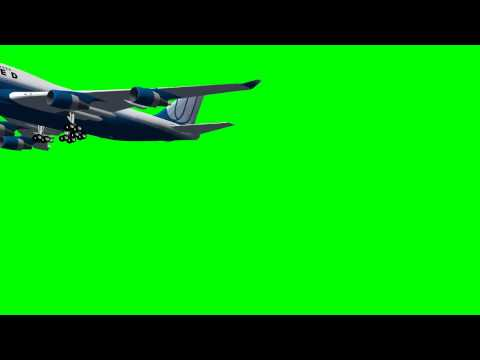 Green Screen Airplane -vCIz2_mtm4c