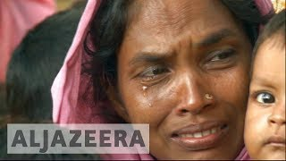 One month into Rohingya crisis, refugees still fleeing - ALJAZEERAENGLISH