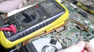Ноутбук ASUS не включается не заряжается