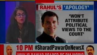 Lok Sabha Elections 2019: 'Chowkidar Chor Hai' remark, Rahul Gandhi apologise to Supreme Court - NEWSXLIVE