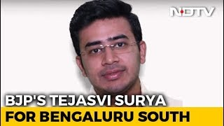 BJP Fields Tejasvi Surya From High-Profile Bangalore South Seat - NDTV