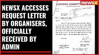Amritsar train accident: NewsX accesses request letter by organisers, officially received by Admin - NEWSXLIVE