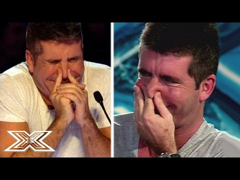 When Judges Get The Giggles   X Factor UK