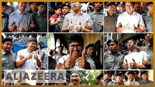 🇲🇲Calls for Reuters journalists' release on anniversary of arrests | Al Jazeera English - ALJAZEERAENGLISH