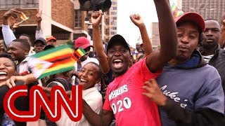 Protesters take to the streets calling for Mugabe to step down - CNN