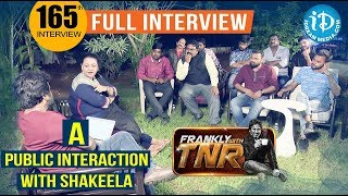 Actress Shakeela Public Debate - Full Video || Kobbari Matta Movie || Frankly With TNR #165 - IDREAMMOVIES